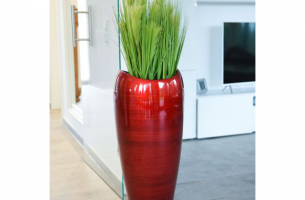 IHD001 - Lacquer  hand-painted planter